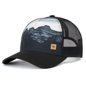 tentree Altitude Hat meteorite black mountain juniper
